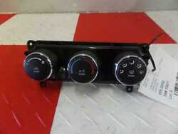 10 11 12 13 14 Dodge Avenger Temperature Climate Control Manual AC Heater