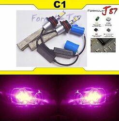 LED Kit C1 60W 9004 HB1 30000K Pink Head Light QUALITY JDM DIY COLOR LAMP