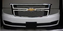 2015 Suburban Front Bumper Cover With Lower Spoiler And Grill