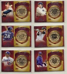 You Pick - 2015 Topps First Home Run Commemorative Medallion Cards Free Shipping