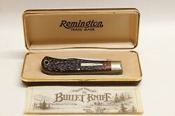 Remington Bullet Knife 1982 New In The Box