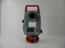Leica Tc110 10 Total Station Complete For Surveying One Month Warranty
