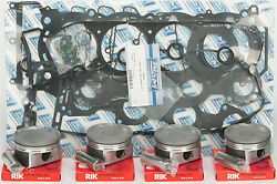 Wsm Top End Kit Yam Fx1800 Sc .25mm Part 010-873-11p New