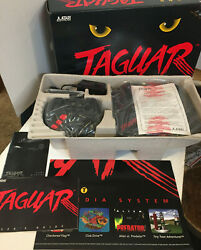 Atari Jaguar System Console (NTSC) New with Extra ControllerCannon Fodder