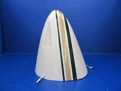 Beech D55 Baron Nose Cone Green And Gold Stripes P/n 96-410021-603 0717-109