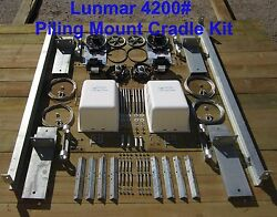 Boat Lifts 4200 Piling Mount Cradle Kit By Lunmar Boatlifts