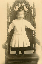 Vintage African American Girl Angel Chicago Cabinet Card Gibson Galleries Photo