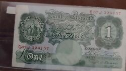 One Pound - The Bank Of England - Emergency Note - Rare - Undated
