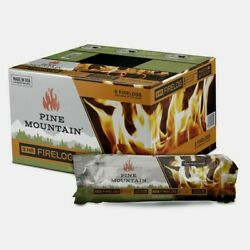 Pine Mountain Fireplace Fire Logs 3 Hr Fast And Easy Lighting Indoor Or Out 6 Pack