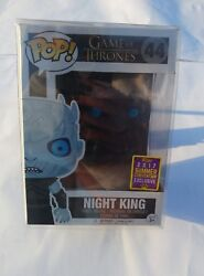 Funko Pop Game Of Thrones Rare Night King 44 Hbo Sdcc Comic-con With Protector