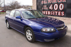 Chevrolet Impala 4dr Sedan LS 4dr Sedan LS 2005 Chevrolet Impala LS 3.8L V6 Leather Dual Climate Control CD Po