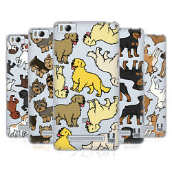 HEAD CASE DESIGNS DOG BREED PATTERNS 3 SOFT GEL CASE FOR XIAOMI PHONES