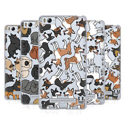 HEAD CASE DESIGNS DOG BREED PATTERNS 5 SOFT GEL CASE FOR XIAOMI PHONES
