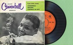 Julian Cannonball Adderly / Willows / Emarcy Ere 1552 Press. England 1956 Ep Ex