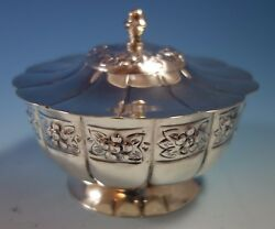 Aztec Rose By Sanborns Mexican Mexico Sterling Silver Candy Dish 1825