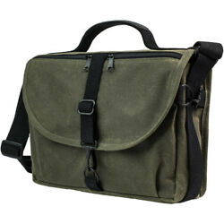 NEW DOMKE F-803 RUGGEDWEAR MESSENGER BAG MILITARY GREEN WATER-RESISTANT CANVAS