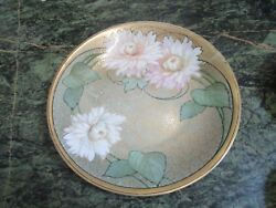 Rs Germany Antique Plate Floral [128}