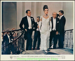 MY FAIR LADY LOBBY CARD 8x10 Size Movie Poster Mint Set of 8 AUDREY HEPBURN 1964