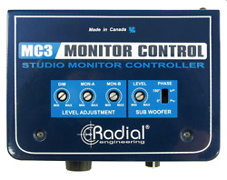 Radial MC3 Passive monitor controller dual output BEST OFFER R094