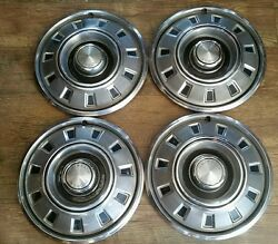 ☆1968 1969 Dodge Charger Dart Coronet Hubcaps Wheel Covers Set