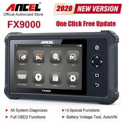 All System OBD2 Car Scanner DPF ABS Air bag EPB TBA Oil Injector Diagnostic Tool