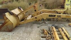 Case 480f Ll Loader Arm Mounting Parts And Bucket D146332