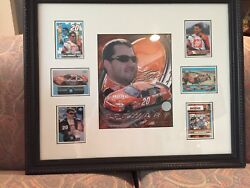 Tony Stewart 20 Frame And Matted Art