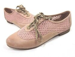Naya Trite Oxford Shoes Womenand039s Carne Tan Us Size 9.5 M New