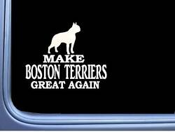 Boston Terrier Maga L732 Dog Sticker 7
