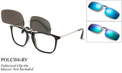 Clip on Sunglasses Polarized Flip up Glasses Sports Driving Outdoor Eye Protect $7.65