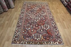 Antique Persian Bakhtiari Long Rug Hand Made Woolnice Old Colour 10 X 5 Ft