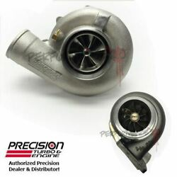 Precision Turbo 7675 Billet Cea Journal Bearing 1200hp T4 Vband .81 A/r Hp Cover