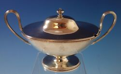 Robert Hennell I English Sterling Silver Gravy Boat W/ Cover Circa 1780 1995