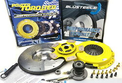 Heavy Duty Ceramic Button Stage 4 Clutch Kit And Flywheel For Falcon Fg Xr6 Turbo