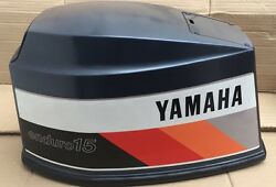 Yamaha Marine Engine Cowling 15hp Enduro 1986 4as 2 Stroke 662-42610-08-ej N.o.s