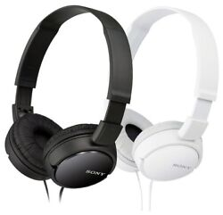 Sony MDR ZX110 Stereo Over Head Headphone Extra Bass Black amp; White Colors $17.99