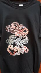 Boa Constrictor Snake T-shirt Adult Sizes. Reptile Free Post