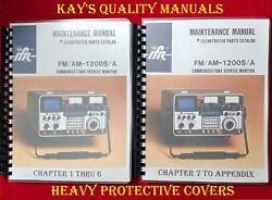 Ifr Fm/am 1200s/a Communications Monitor Service Manual On 32 Lb Paper
