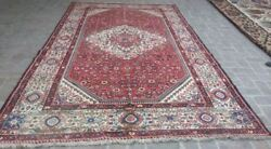 7and0392 X 12 Handmade Vintage Persian Malayer Wool Oriental Large Area Carpet Rug