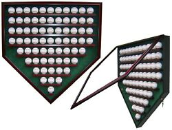 69 Baseball Homeplate Shaped Display Case - For The Passionate Sports Collector