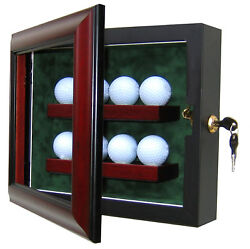 8 Golf Ball Display Case - A Usa Product