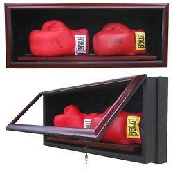 2 Boxing Glove Display Case - Handcrafted In The Usa