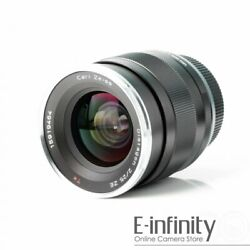 BRAND NEW Carl Zeiss Distagon T* 25mm f2 Lens For Canon ZE 225 EXPRESS