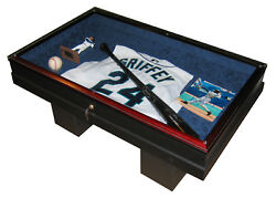 Coffee Table - Sports Display Case - The Workmanship Is Second To None
