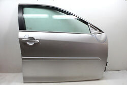 2013 TOYOTA CAMRY FRONT RIGHT PASSENGER DOOR SILVER 1F7 OEM 12 13 14