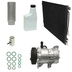 Ryc Reman Complete Ac Compressor Kit Gg578 With Condenser
