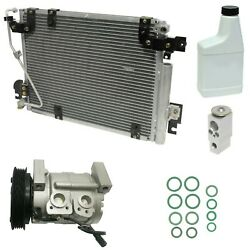 RYC Reman Complete AC Compressor Kit GG385 (With Condenser)