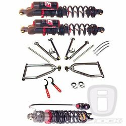 Elka Stage 3 Front And 4 Rear Shocks Lsr Standard Travel A-arms Honda 250x 300ex