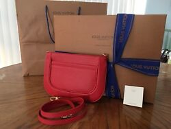 Louis Vuitton Hand Bag • CORAL Color • NOIR • Received as Gift Never Used
