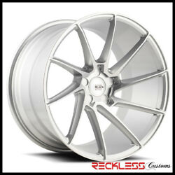 Savini 19 Bm15 Silver Concave Directional Wheels Rims Fits Dodge Charger Awd